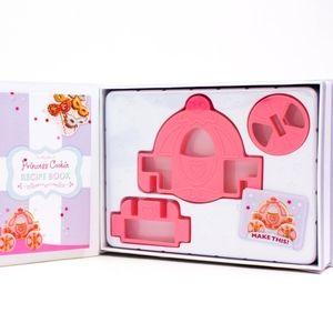 NEW 3D princess cookie making set with book